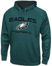 Philadelphia Eagles Gridiron Synthetic Men Pullover Hoodie Teal Big & Tall Sizes