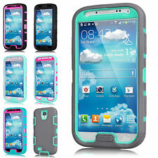 Rugged Rubber Protective Hard Matte Case Cover For SAMSUNG GALAXY S IV S4 i9500