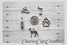 MINI Charm Set / 5 pcs / Greyhound Dog Breed / Set Lot Collection / Love My Dog
