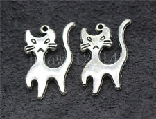 10/40/200pcs Tibet silver pretty Animal Jewelry Finding Charms Pendant 22x13mm