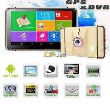 M552 Tablet PC Android 4.4 WIFI 7.0Inch Screen Car DVR GPS Navigator Recorder