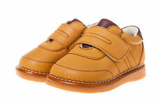 LITTLE BLUE LAMB Squeaky Shoes Shoes Trainers Low Shoes 5230 brown new