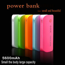 5600mAh Portable External Power Bank Battery USB Charger All Mobile Cell Phone