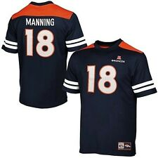 Denver Broncos Peyton Manning #18 Majestic Hashmark Jersey Mens Big & Tall Sizes