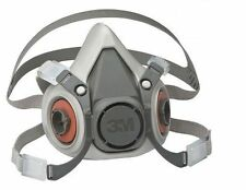 3M 6000 Series Half Mask Reusable Organic Respirator / Dust & Gas Mask 6200 6300