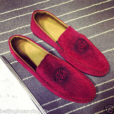 New Fashion British Men's Casual Lace Slip On Loafer Moccasins Driving Shoes