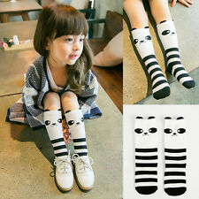 1 Pair Cute Panda Newborn Baby Kids Girls Cotton Leg Warmers Leggings High Socks