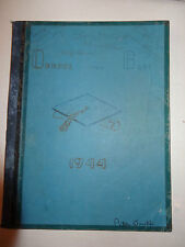 Yearbook RCHS 1944 Roane County High School Kingston TN Jackets Tennessee Estate