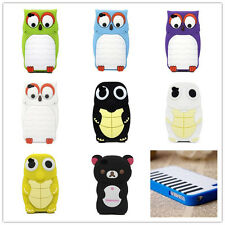 3D Cute Cartoon Animal Characters Soft Silicone Case Cover Skin For iPhone 4 4S