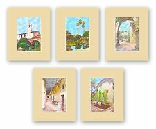 Mission San Juan Capistrano 8x10 Limited Edition Matted Fine Art Prints