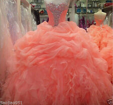 2015 New Style Ball gown Prom Dress Formal Party Gowns Quinceanera Dresses