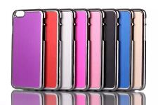 Chrome Brushed Metal Hard Back Skin Case Cover For Apple iPhone 15.2-11.9cm inch
