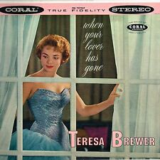 TERESA BREWER when your lover has gone U.S. CORAL LP_orig 1958 early STEREO