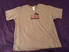 New The Palms Las Vegas Shirt 2XL XXL Tan Khaki Cotton