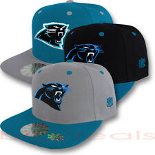 Carolina Panthers Cap Logo Hat NFL Football Snap Back Embroidered On Field Game