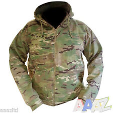 Mens Army Zipped Fleece Lined UTP Hoodie Hoody Jacket Multicam MTP Airsoft