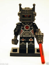 LEGO SERIES 8 - EVIL ROBOT FIGURE + RAY GUN + FREE GIFT - FAST - BESTPRICE - NEW