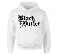 "BLACK BUTLER ""LOGO"" ANIME, MANGA, COSPLAY HOODIE NEW"