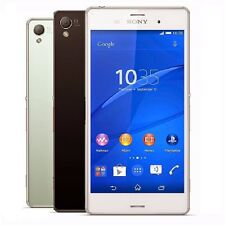 """Sony Xperia Z3 D6603 16GB GSM Unlocked 5.2"""" 20MP Smartphone Cell Phone"""