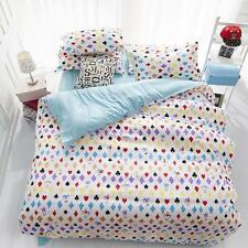 Texas Poker Single Double Queen King Size Bed Set Pillowcases Quilt Duvet Cover
