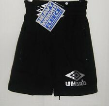 "BNWT UMBRO HEAVYWEIGHT FLEECE TRAINING SHORTS ONLY SIZE 28""  £££ SLASHED"