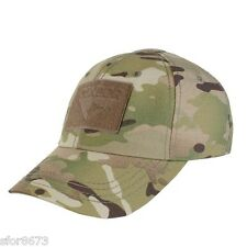 CONDOR TACTICAL ADJUSTABLE OPERATORS CAP, TEAM, BASEBALL, LOW VIS VELCRO® PANEL