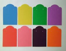 "2""x3"" Earring Display Jewelry Retail Cards - Your Choice of Color & Quantity"