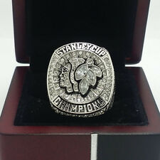 2015 Chicago Blackhawks Stanley Cup Championship Solid Copper Ring 8-14Size