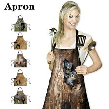 Cute Fashion Men Women's Home Kitchen Aprons Restaurant Chef Funny Apron Dress