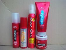 Wella Shockwaves Natural Definition Styling Products