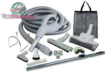 Low Voltage Central Vacuum Kit w/Air Driven Power Nozzle & Tools Beam Eureka MD