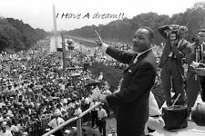 """Martin Luther King Jr  poster 36"""" x 24"""" Decor 04"""
