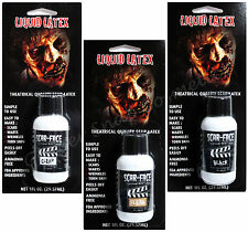 Liquid Latex Wounds Scars Halloween Stage Makeup Face Body Paint Zombie Skin