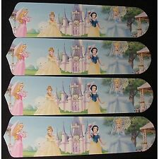 Ceiling Fan Designers Disney Princesses Castle Indoor Ceiling Fan