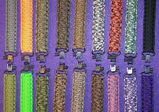 550 PARACORD ADJUSTABLE RIFLE SLING With key lanyard (various colors)