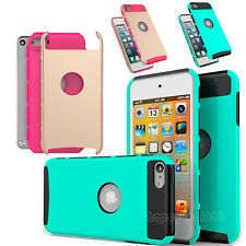 Hybrid Heavy Duty Shockproof Durable Case Cover for Apple iPod Touch 5 6th Gen