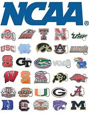 NCAA College Football Cut Out Logo Official Licensed Pewter Belt Buckle