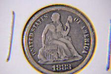 1883 10C Liberty Seated Dime - 90% Silver - Lot # 40