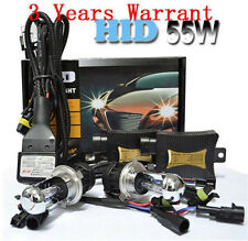 55W HID Bi-Xenon Headlight Conversion KIT bulbs H1 H3 H4 H7 H11 9005 9006 9004/7