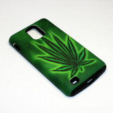 Marijuana Leaf Hybrid ShockProof Phone Cover Case For Samsung Infuse 4G I997