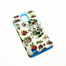 Cat & Flowers & Beetles Hybrid ShockProof Cover Case For Samsung Infuse 4G I997