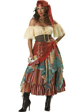 Fortune Teller  Gypsy Halloween Holiday Party Adult ball gown 2X 3X NEW costume