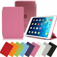 Slim Leather Magnetic Smart Cover Back Case for iPad Mini 1/2/3 Sleep/Wake