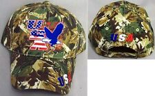 USA Eagle Baseball Caps Hats Embroidered  - 1Pc or 6Pc Lot (ECapUS84)