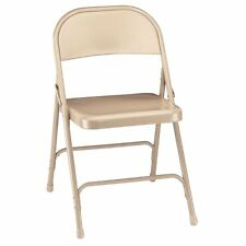 National Public Seating Standard Steel Folding Chair - 4 Pack