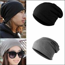 Pop Knitted Woolly Winter Warm Oversized Slouch Beanie Hat Cap skateboard Unisex