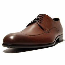 Hugo Boss CLASTO Brown Wingtip Men's Fashion Leather Oxford Dress Shoes Casual