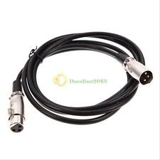 6/10/20/25ft Foot Xlr Male To Female Mic Cord Microphone Audio Extension Cable