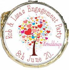 PERSONALISED ENGAGEMENT PARTY DIY MINT CRISP CHOCOLATES FAVOURS SWEETS EPMC1