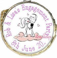 PERSONALISED ENGAGEMENT PARTY DIY MINT CRISP CHOCOLATES FAVOURS SWEETS EPMC8